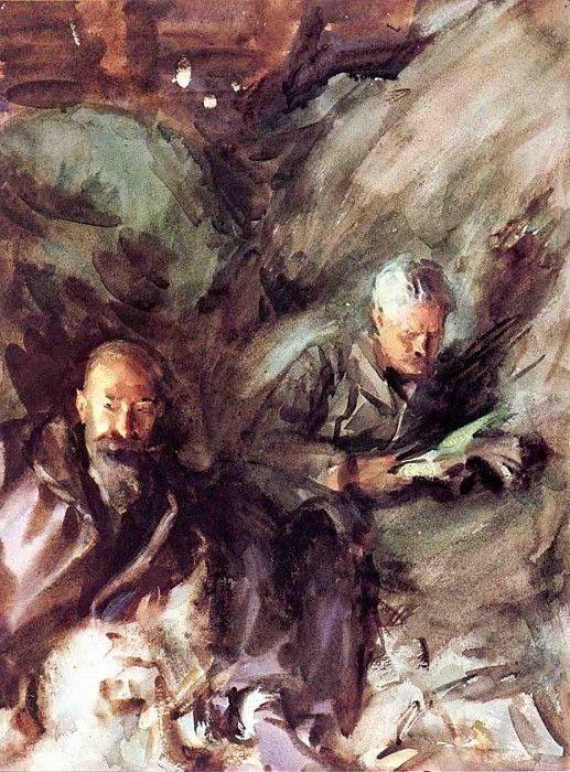 In a Hayloft 1904-1907. Джон Сингер Сарджент