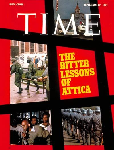 Additional Information. TIME Cover: Attica Prison Riots