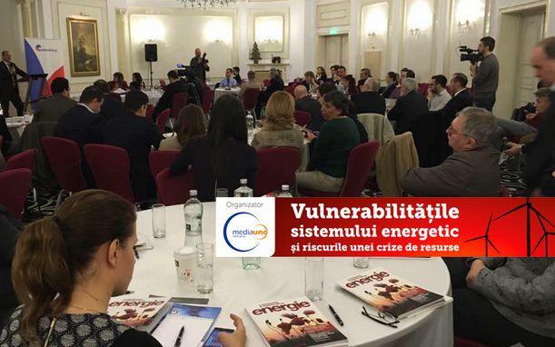 Conferinta «Vulnerabilitatile sistemului energetic si riscurile unei crize de resurse»