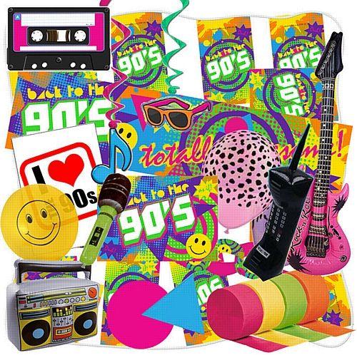 90's Large Decoration Pack