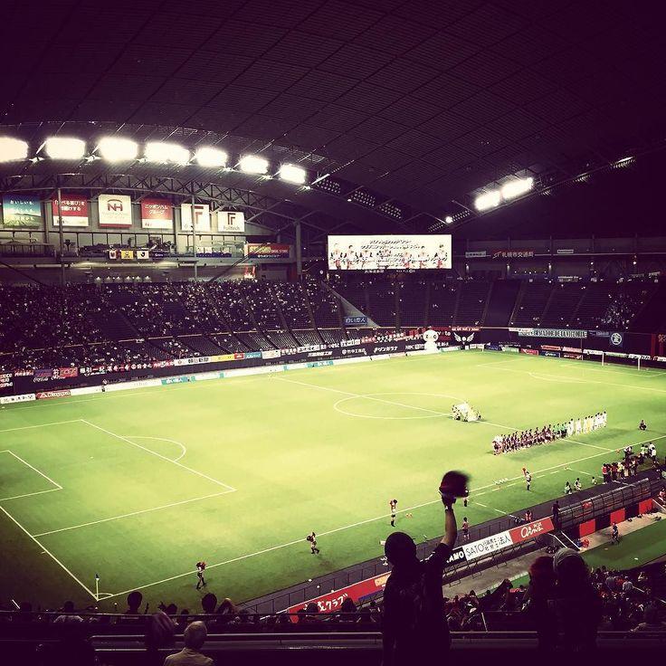 . #consadole #sapporo #consadolesapporo #sapporodome #dome #jleague #j2league #j2 #soccer #football #hokkaido #japan # by ryujikawato