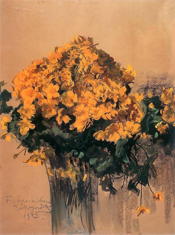 'Kaczeńce' Leon Wyczolkowski, polish painter