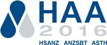 HAA 2016, 13-16 November 2016 Melbourne, Victoria, Australia Website: www.haa2016.com