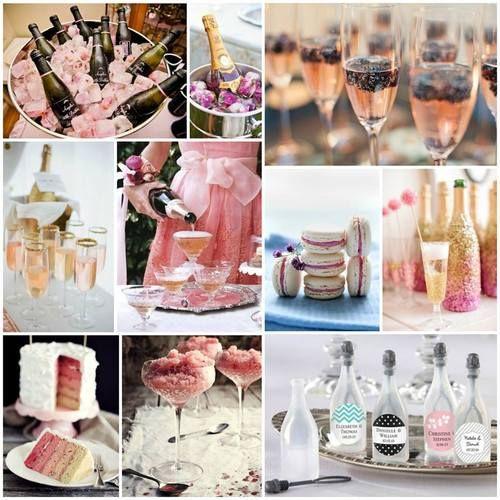 370 best images about spring wedding inspiration on for Champagne brunch bridal shower