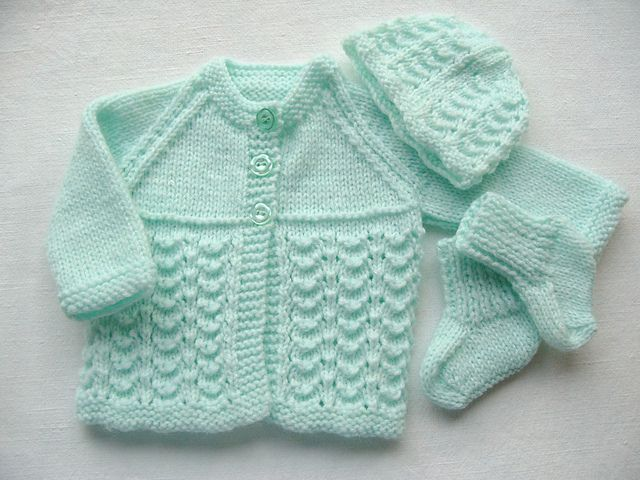 Crochet Patterns Baby Sweater Sets