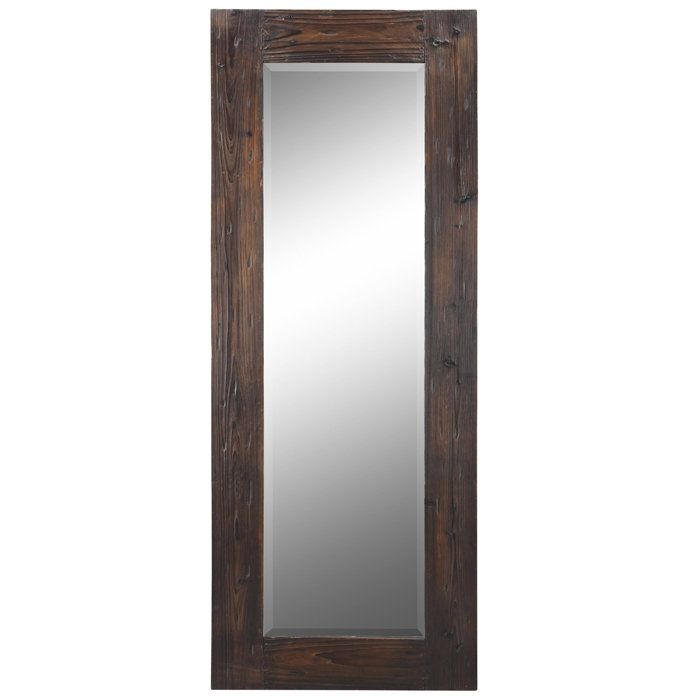 Byron full length wall mirror for bedroom home for Long length mirrors for walls