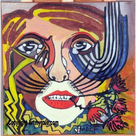 Tristesse - 700,00 €  #Art #Artiste