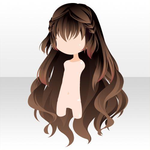 anime brown hair ideas