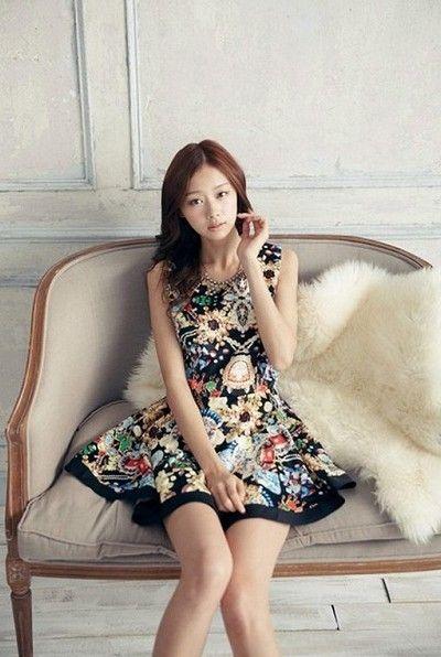 Baju Import Dress DS3093-Black