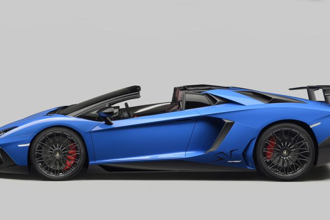 Automobili Lamborghini unveils the new Lamborghini Aventador LP 750-4 Superveloce Roadster in occasion of the Monterey Car week in California. Th