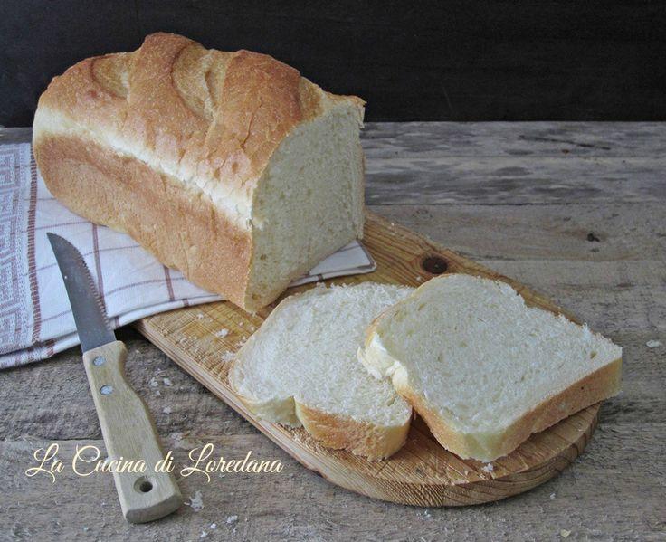 Pane al latte in cassetta