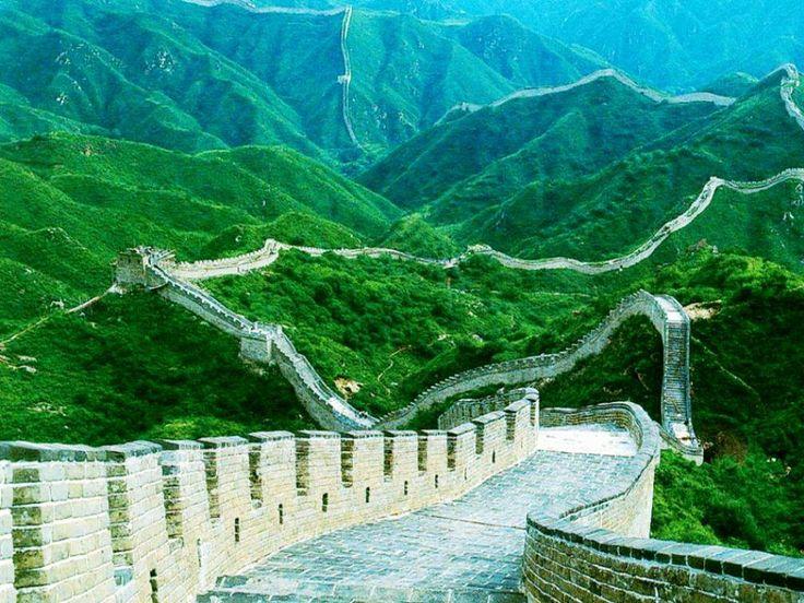 Muralhas  da  China  (Arquitetura Militar construída durante a China Imperial -  206 a.c.)