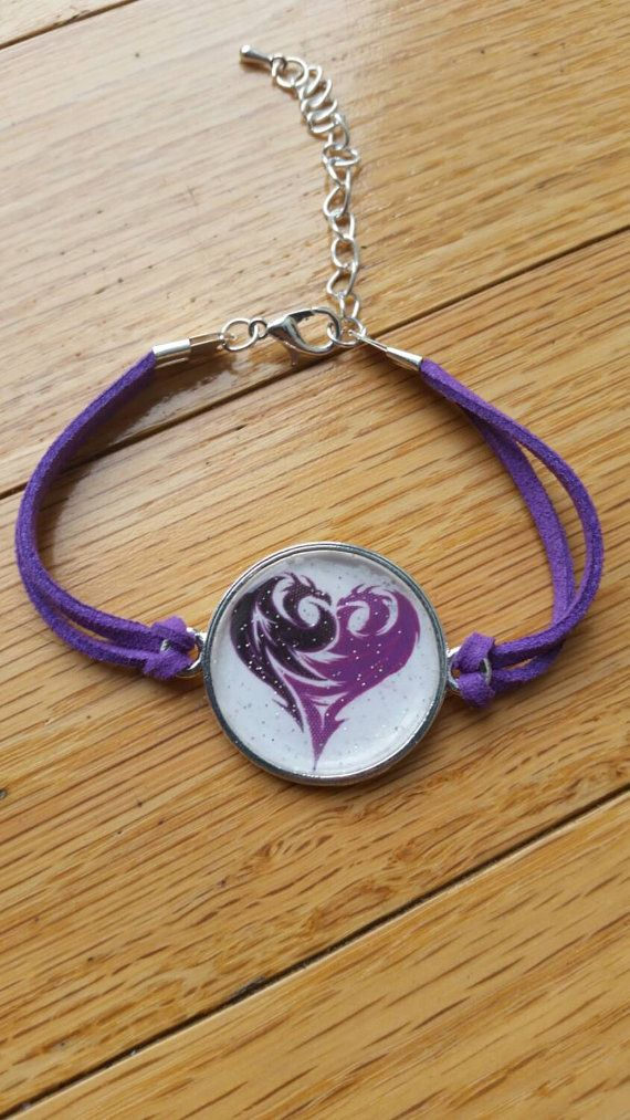 Disney Descendants MAL inspired Purple by ItsAGirlThingDesignz. Great gift for the kid who loves Disney.