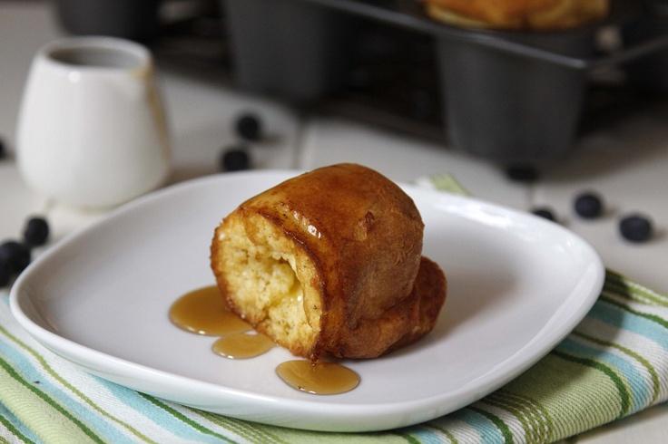 Sweet cream vanilla popovers. | Food | Pinterest