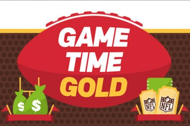 • Brand: McDonalds • Type: Sweepstakes game • Target: Die-hard football fans that are users/brand switchers in the fast food category • Franchise-building because it includes $500,000 giveaways, trips to the next Super Bowl and some free food, creating buzz and good-will around the McDonald's brand in sponsorship with the NFL.  http://adage.com/article/cmo-strategy/mcdonald-s-plays-nfl-team-love-giveaway-game/301080/