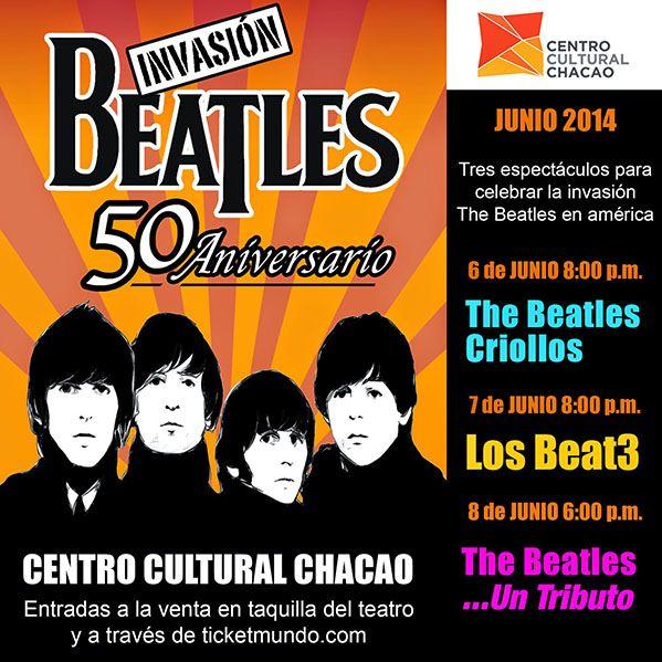 Tributo a The Beatles por los 50 años del inicio de la invasión británica http://shar.es/P6sYC #Venezuela #Caracas #Rock