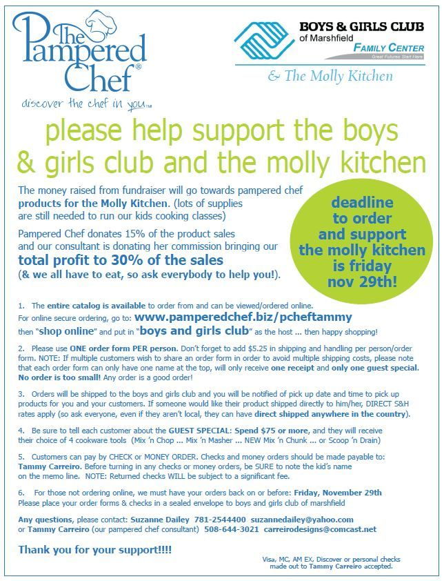 11 best FUNdraising with The Pampered Chef! images on Pinterest ...