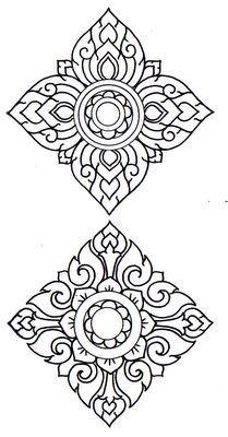 Prajam Yam : LaiThai decorative pattern