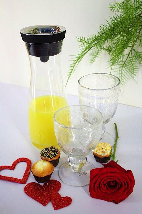 Nada como un delicioso jugo de naranja para comenzar el dia.