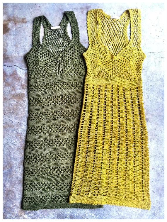 #crochet dresses