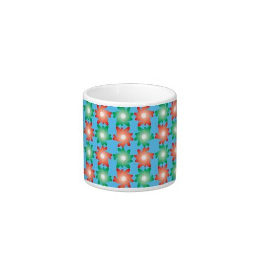 Funny Flowers Legs Pattern Espresso Cup