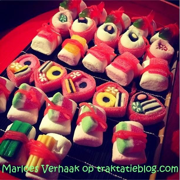 Candy sushi #birthday #treat #kids