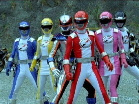 Power Rangers Operation Overdrive - Final Battle (Power Rangers vs Fluri...