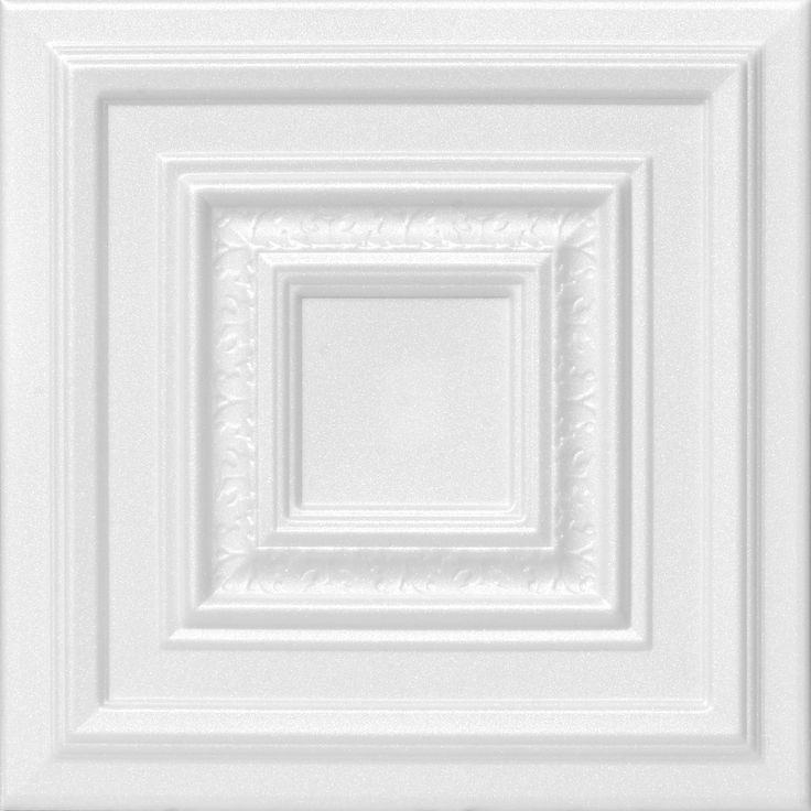 R 31 Styrofoam Ceiling Tile has been one of the most popular ceiling tile because of its classic clean look.
