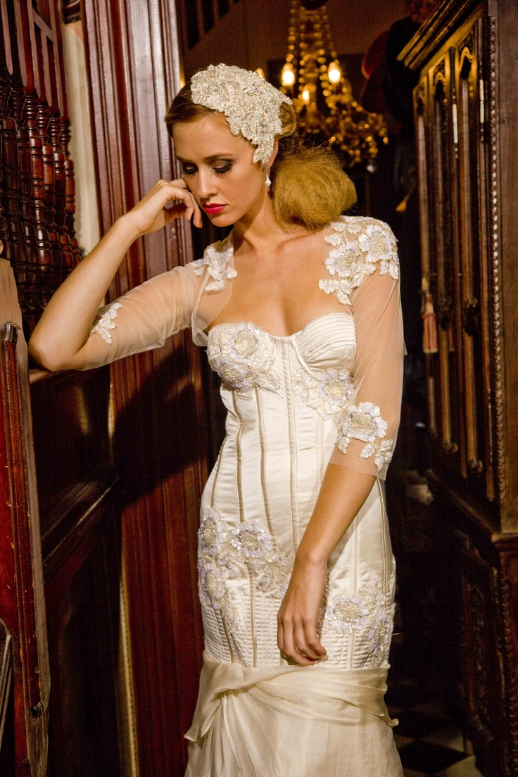 "Corston Couture - ""Her Signature"" Gown   #couturewedding#couture#weddingdresses#bridalgowns"