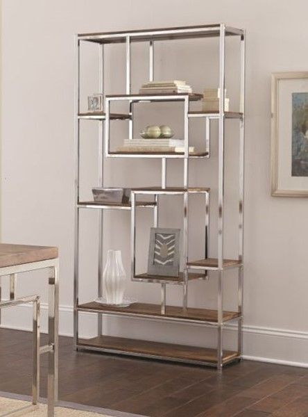 steve silver alize natural book shelf new house living in 2019 rh pinterest com