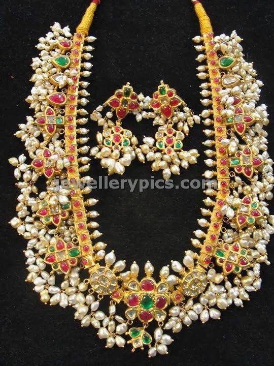 Ethnic Guttapusalu royal jewellery design - Latest Jewellery Designs
