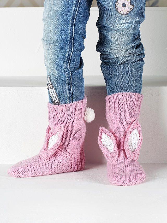 Neulo pupusukat itselle tai lapselle. Katso söpöin villasukkaohje ikinä!