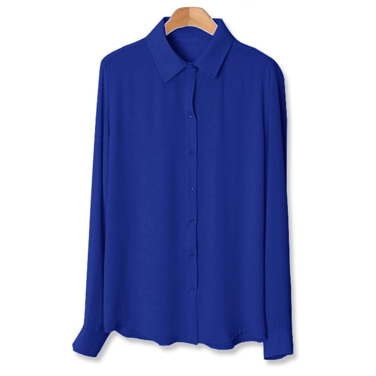 2016 Plus Size S   XXXXL 6XL New Fashion Basic Chiffon Blusas Tops Shirt Women Vintage Clothing Casual Loose Office Blouse 5XL-in Blouses & Shirts from Women's Clothing & Accessories on Aliexpress.com   Alibaba Group