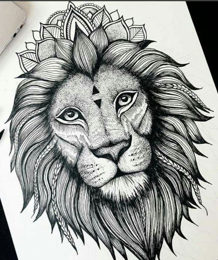 25+ Best Ideas About Lion Tattoo Design On Pinterest