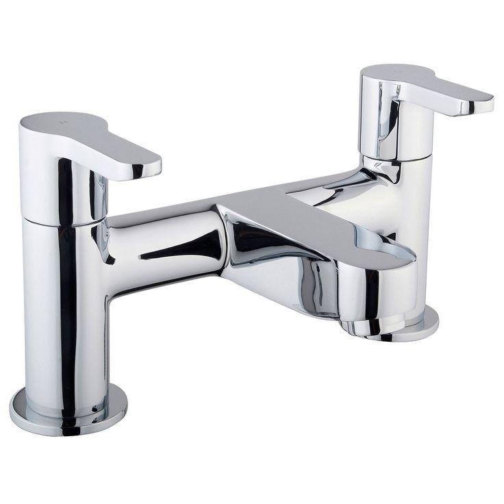 Cooke & Lewis Tahoe Chrome Bath Mixer Tap | Departments ...
