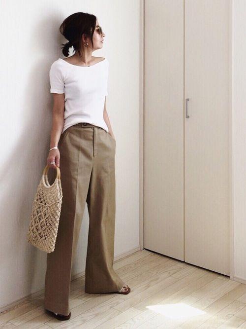 RIM.ARKのパンツを使ったmayumiのコーディネートです。WEARはモデル・俳優・ショップスタッフなどの着こなしをチェックできるファッションコーディネートサイトです。