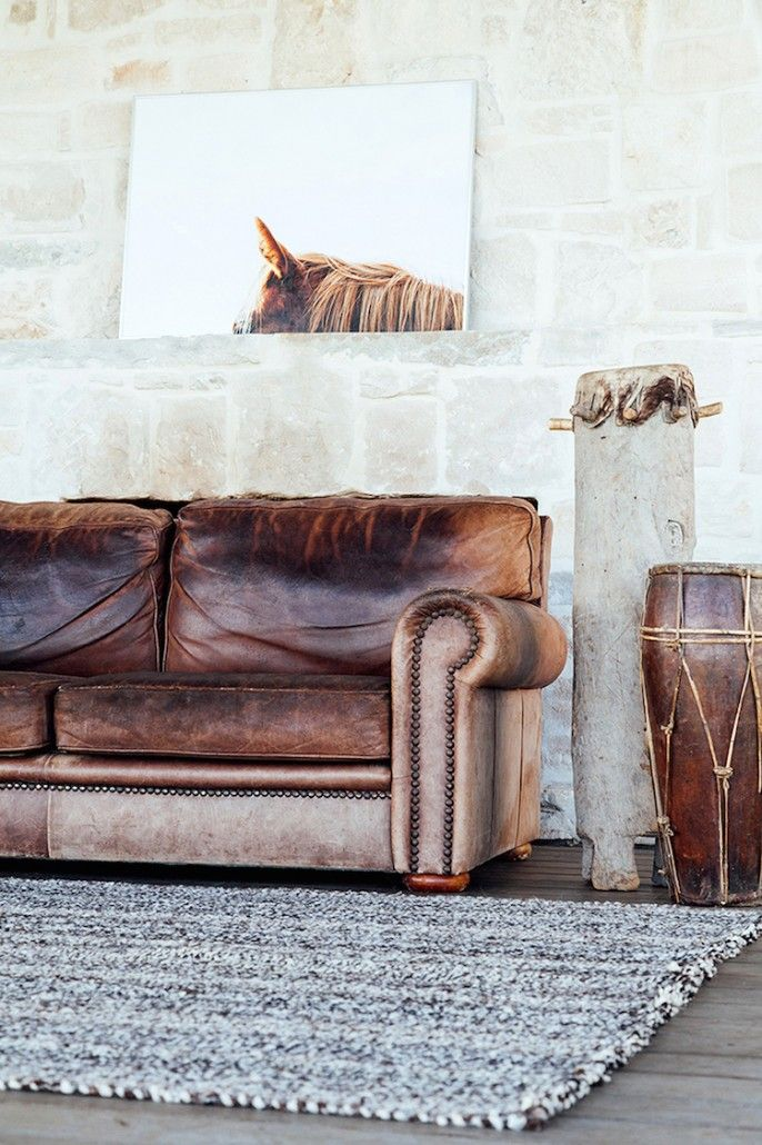 10 Beautiful Brown Leather Sofas With Images Leather Living