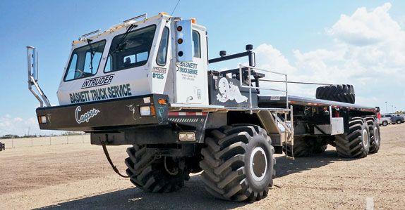 Marcep Intruder 6x6 Bed Truck