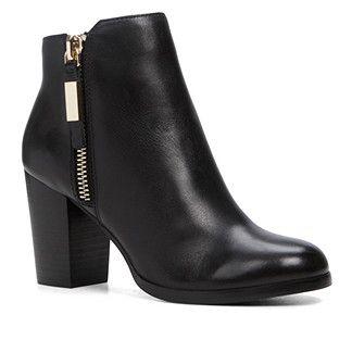 Aldo Shoes Ankle Boots Mathia color: Black