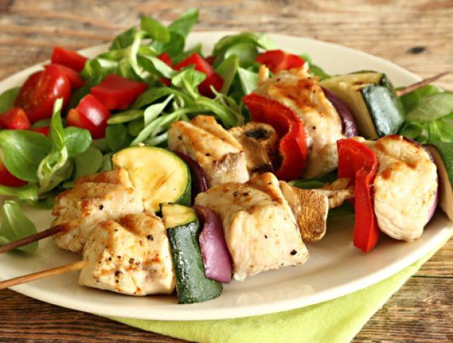 Pulykasaslik nyári zöldségekkel Recept képpel - Mindmegette.hu - Receptek