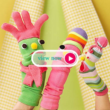 Super Silly Sock Puppets
