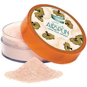 Coty Airspun Loose Powder I freaking swear by this. It's a holy grail powder!!!!