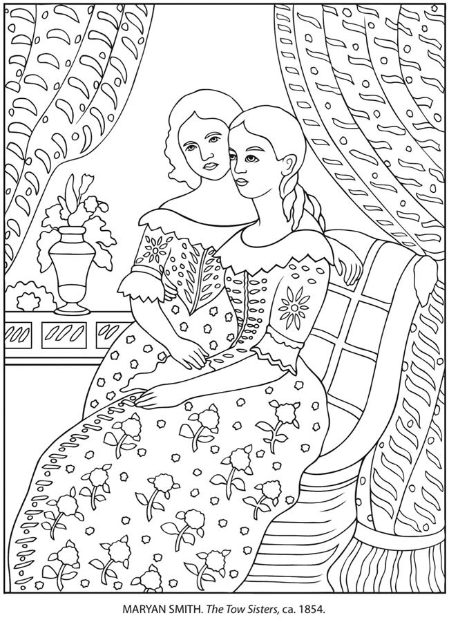 bavarian folk art coloring pages - photo#43