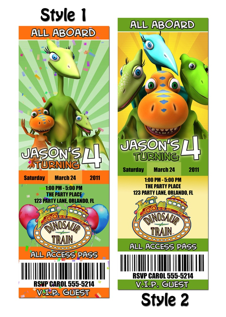 69 best Dinosaur Train Party images on Pinterest | Happy birth ...