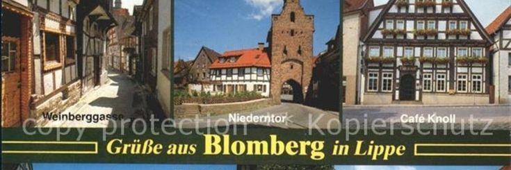 Zoals velen van jullie weten heb ik in Blomberg gewoond, een plaats in Duitsland. Mijn vader was militair en hij werd uitgezonden daarheen. Er was een wijk voor alle mili
