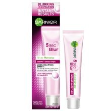 Garnier Skin Renew 5 Second Blur Instant Smoother: This is nothing more than a primer (think Smashbox Photo Finish). That said, it does go on incredibly light, mattefies and does smooth some very fine lines. Unfortunately, about a week later, I started noticing little bumps. I ended up tossing it. $16.99, Walgreens.