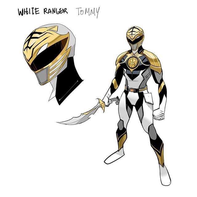 MMPR White Ranger Redesign by Dan Mora Chaves #∆∆shani