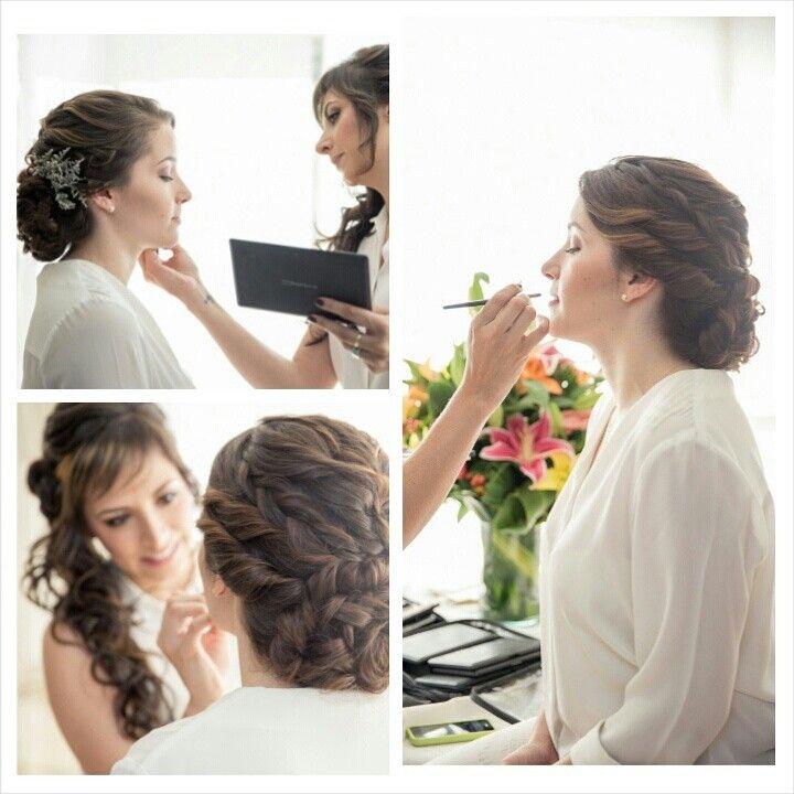 Brides.  Fotografía Verónica Ramirez para Veleria Duque.  Peinado Biviana Suárez