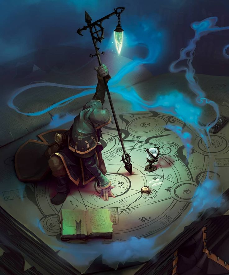 What type of spell do you think he's casting? – Ar…