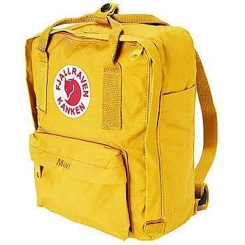 Tålig, praktisk och färgglad ryggsäck i miniformat. En hederlig gammal klassiker som tål lek och bus!